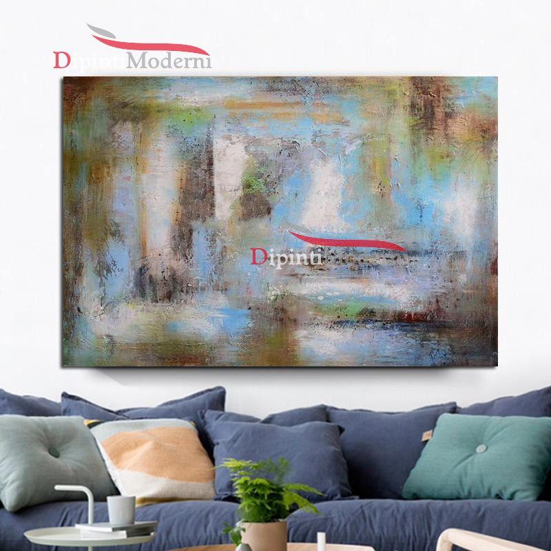 Quadri astratti arredamento salotto dipinti moderni for Quadri moderni salotto