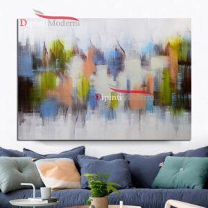 quadri decorativi astratti colori pastello