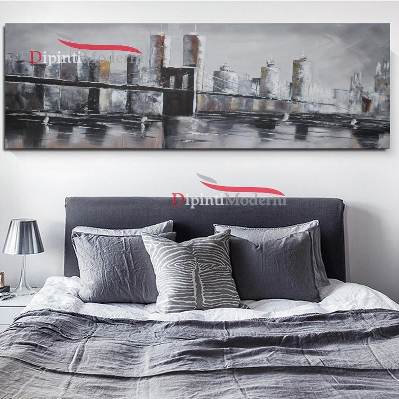 Dipinti moderni ponte New York america