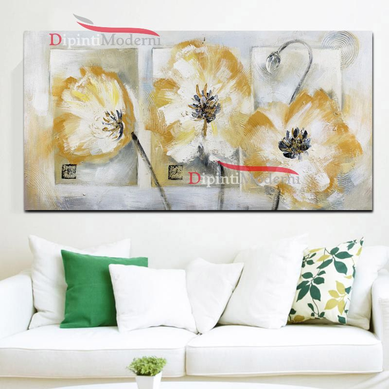 Quadri con fiori - Dipinti Moderni