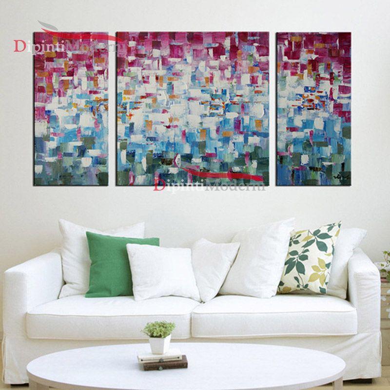Dipinti astratti lilla bianco decorativi cucina dipinti for Quadri decorativi moderni