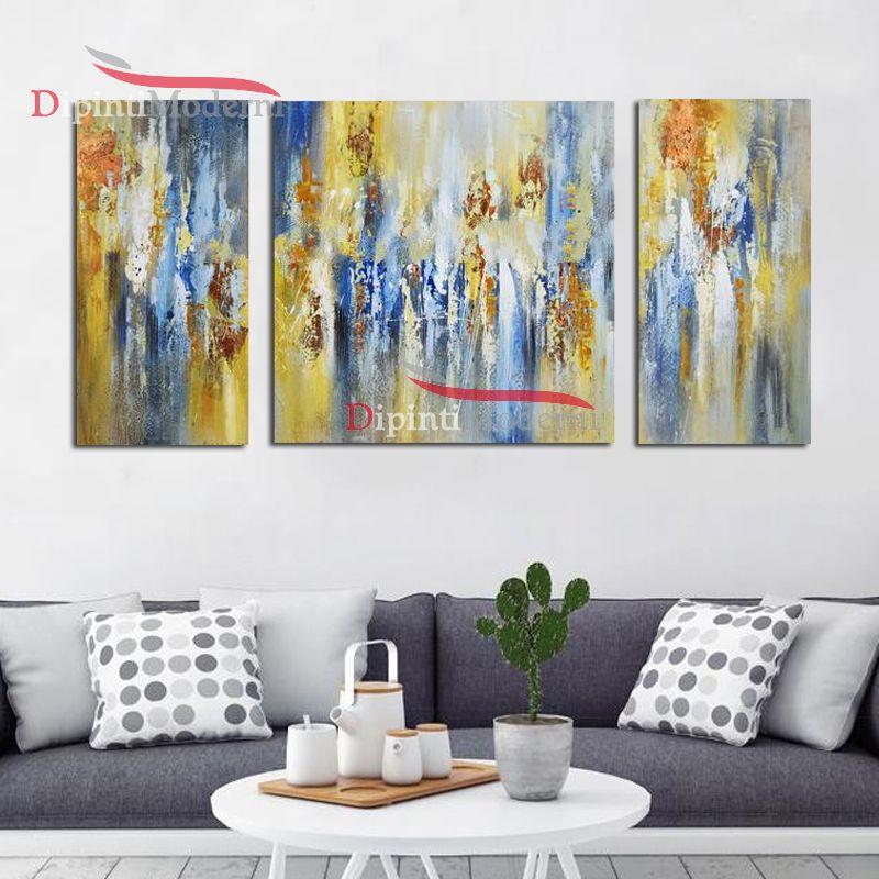 Quadri gialli moderni dipinti a mano dipinti moderni for Dipinti a mano moderni
