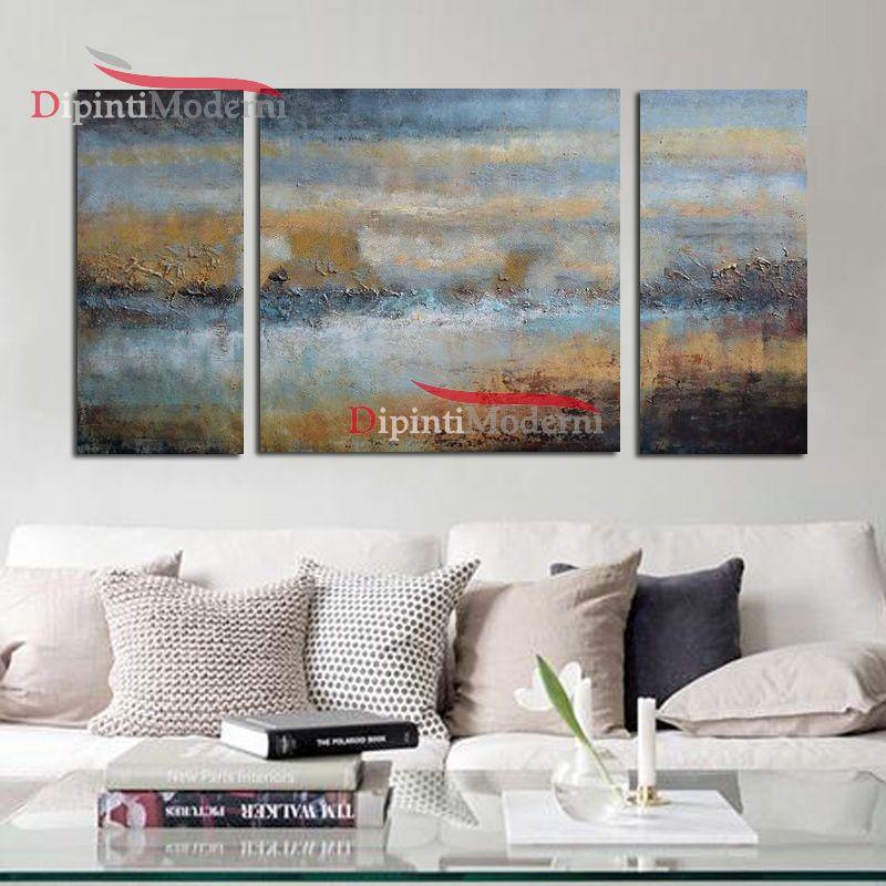 Quadri paesaggio astratti materico - Dipinti Moderni
