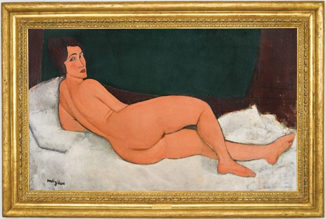 Modigliani nudo disteso asta