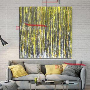 quadri moderni verde acido