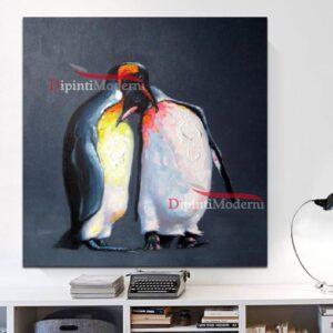 Quadri moderni con pinguini
